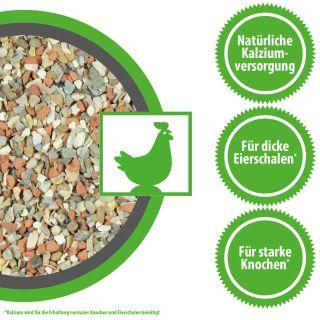 Mineral-Grit von MeineHennen Muschelgrit Hühnergrit Pico