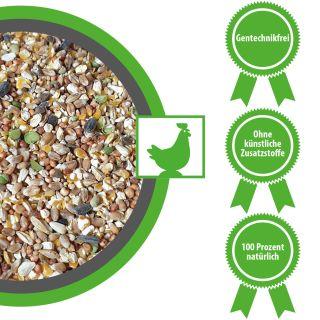 Hühnerfutter Zwerghühnerfutter Grundfuttermittel 15 kg
