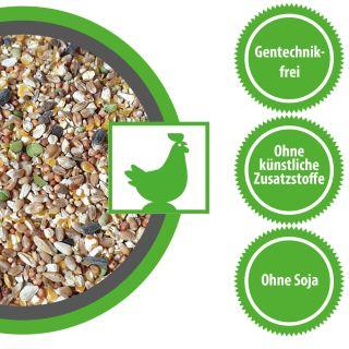 Hühnerfutter Zwerghühnerfutter Körner Vital exzellent 30 kg