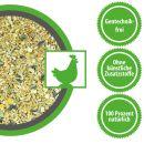 Futter für Legehennen,Hühner, Wachteln Legehennenmischung aus Körnern und Soja Pellets Gentechnik frei Wachtelfutter