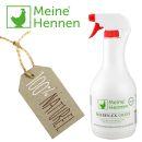 Milben-Ex-Green - 1000ml Milbenspray auf pflanzlicher Basis - gegen Vogelmilben und Parasiten bei Hühnern, Wachteln und Tauben - Effektive Milbenbekämpfung 2